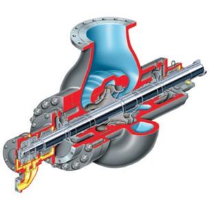 DVSR Nuclear Radially Split, Volute Casing, Single Stage